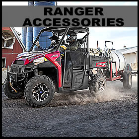 Polaris Ranger XP 900 - XP 1000 Accessories for sale-Windshields-Bumpers-Roofs-Plow Kits and more!